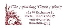 The Finishing Touch Florist